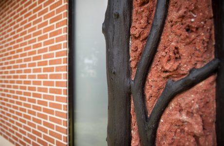 Comme Un Trait architecture Sarthe Construction habitation maîtrise d'ouvrage Sèvres Hauts de Seine particulier brique menuiserie aluminium noir menuiserie bois Henri Carot