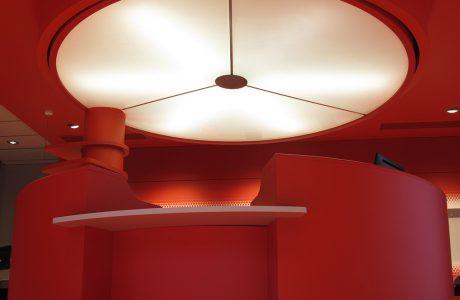 Comme Un Trait architecte le Mans aménagement d'un centre optique au Coudray