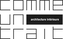 Logo Comme Un Trait architecture Sarthe