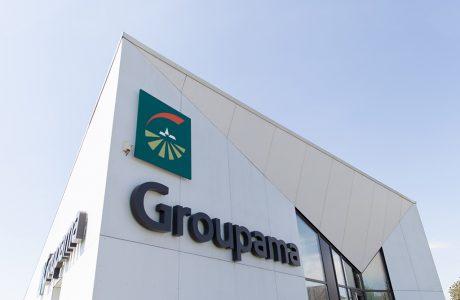 Comme Un Trait architecte Le Mans réalisation d'une agence commerciale maîtrise d'ouvrage Institution d'assurance Groupama Ernée